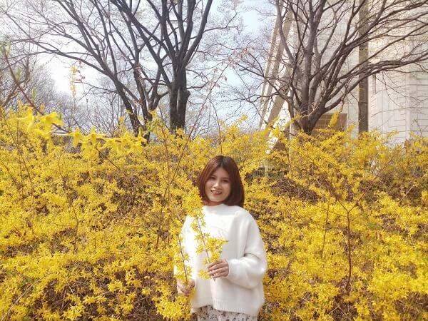 Lê Ngoan - sinh viên MAP tại Đại học Yeungnam