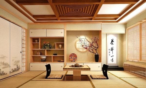 Lối bày trí đơn giản nhưng tinh xảo và đẹp mắt của người Nhật Bản
