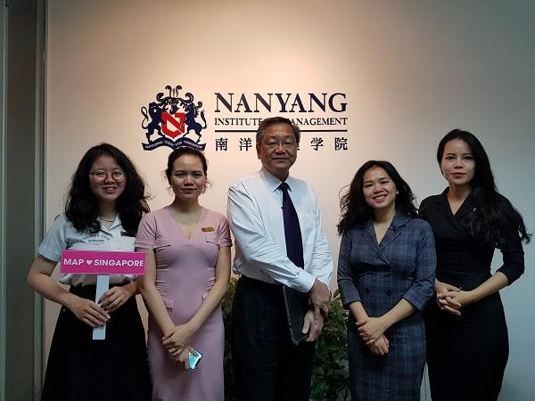 Cùng MAP đến Học viện Quản lý Nanyang