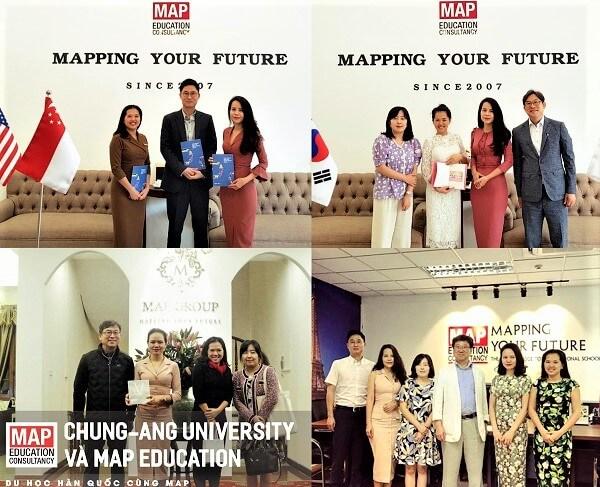 Du học MAP và Đại học Chung Ang – Trường Kinh doanh và Truyền thông số 1 Hàn Quốc