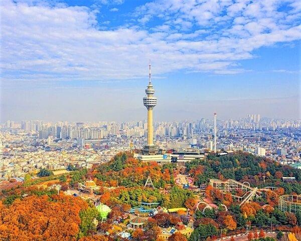 Thành phố công nghiệp Daegu – miền trung Hàn Quốc