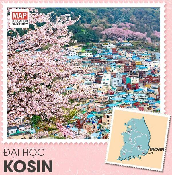 Du học Hàn Quốc nên chọn trường Đại học Kosin – trường mã code visa thẳng tại Busan