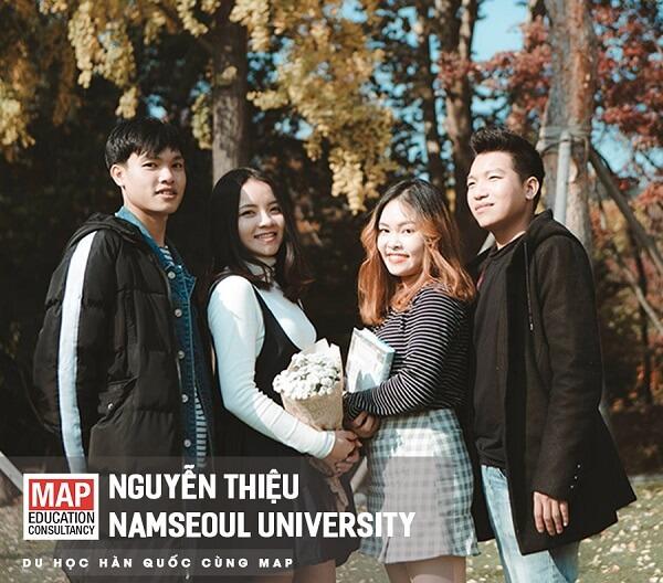 Các bạn du học sinh MAP Hà Nội tại Đại học NamSeoul
