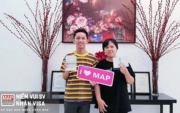 Du học sinh MAP HCM nhận visa thẳng và được miễn giảm tài chính