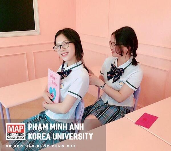 Phạm Minh Anh, cô nữ sinh MAP tài năng tại Đại học Korea - TOP SKY Hàn Quốc