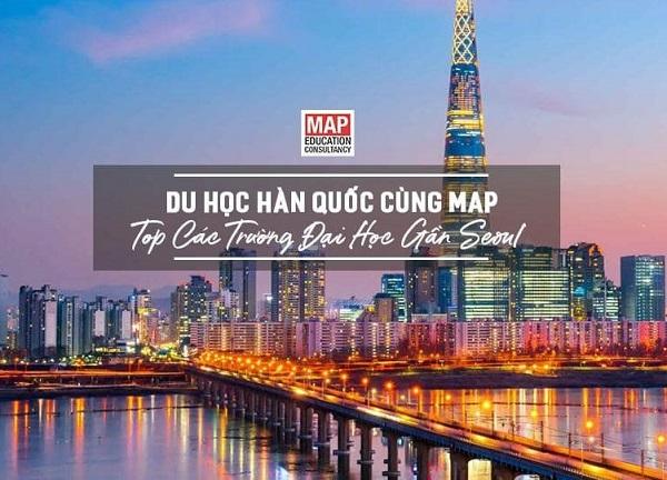Cùng MAP tìm hiểu các trường đại học khu vực gần Seoul