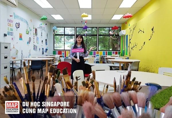 Cùng MAP du học hệ mẫu giáo tại Singapore