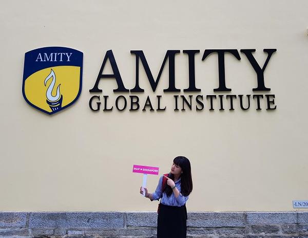 Cùng MAP du học học viện Amity