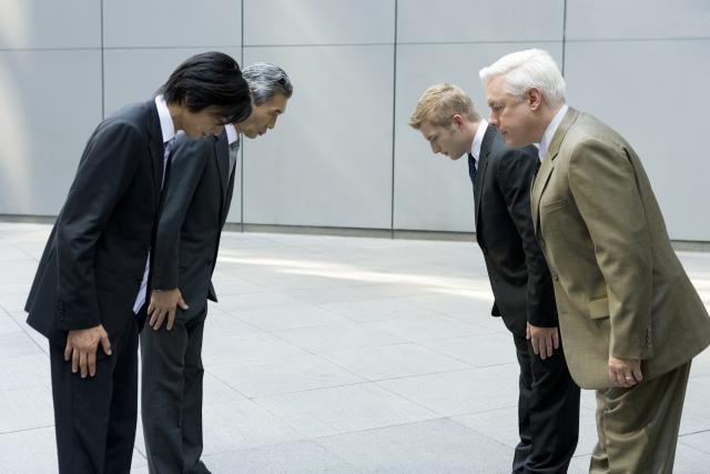Thái độ lịch sự của người Nhật
