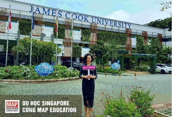 Giành học bổng du học Singapore trường Đại học James Cook Cùng MAP
