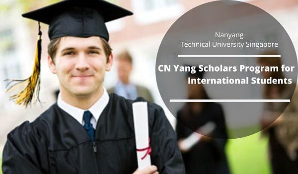 Học bổng CN Yang của trường đại học NTU Singapore