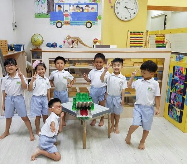 Học sinh học hệ mẫu giáo tại Singapore sẽ dễ dàng thi được vào các trường công lập