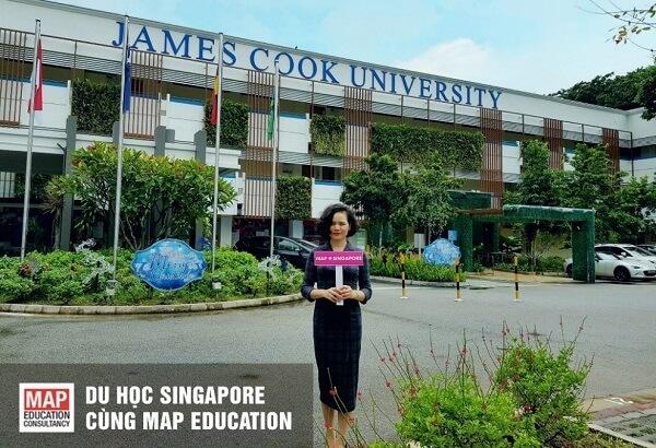 Cùng MAP du học Singapore tại Đại học James Cook