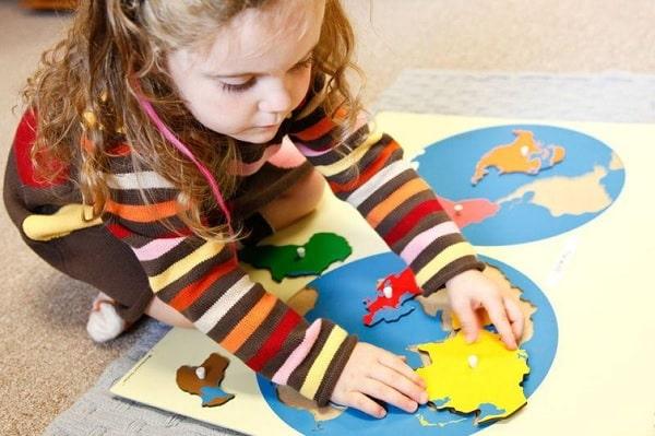 Các trường tư thục sẽ giảng dạy theo giáo trình Montessori