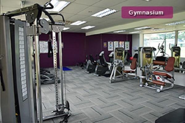 Phòng tập Gym trong học viện EASB