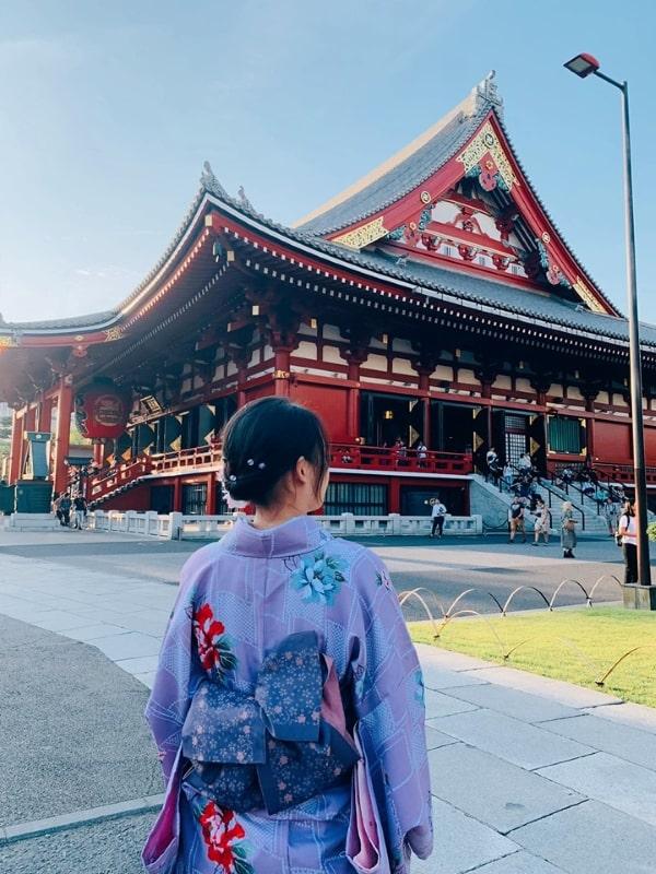Nguyễn Kiều Hương - Sinh viên MAP, trong sắc xuân tại Nhật Bản