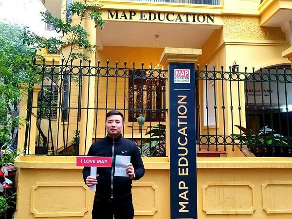 Sinh viên MAP nhận được visa du học Hàn Quốc hệ Cao đẳng