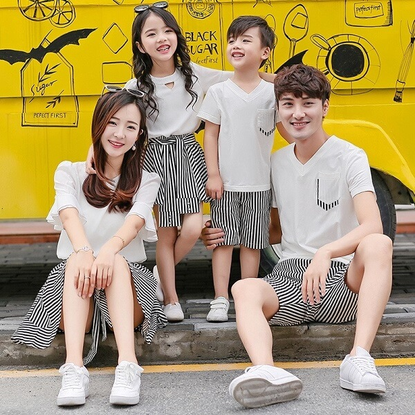 Thời trang gia đình – Phân khúc thị trường lớn trong ngành Công nghệ Dệt may Hàn Quốc