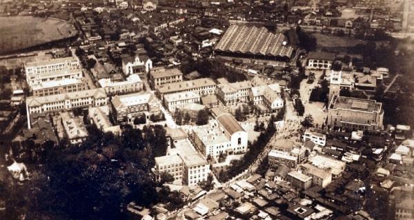 Hệ thống trường Chuyên môn Tokyo vào năm 1882