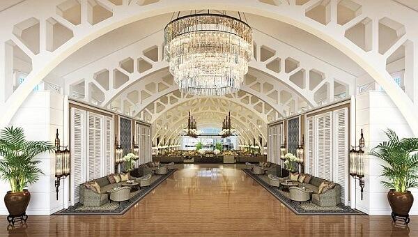 Khách sạn Clifford Pier xa hoa tại Singapore