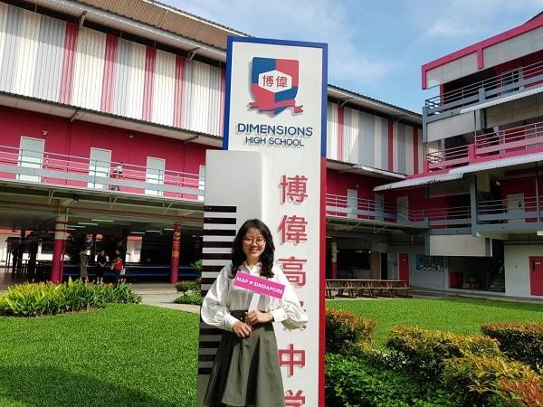 Du học Singapore từ lớp 6 tại trường Cao đẳng Quốc tế Dimensions