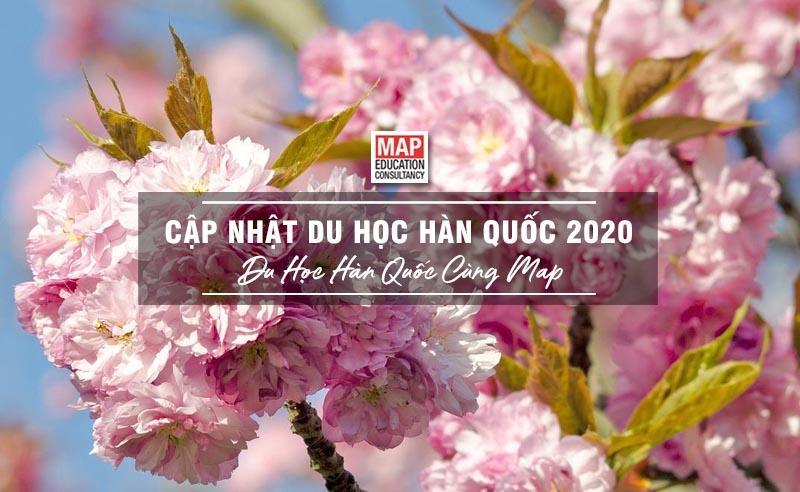 Cùng Du học MAP cập nhật thông tin du học Hàn Quốc 2020 mới nhất