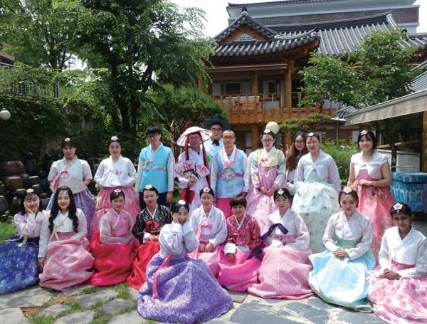Sinh viên MAP giao lưu văn hóa Hàn Quốc tại Đại học Chungwoon
