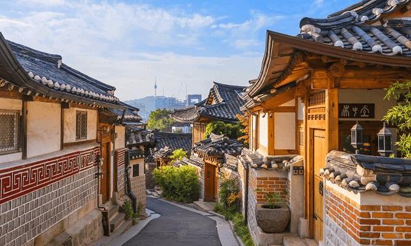 Làng cổ Hanok tại cố đô Jeonju