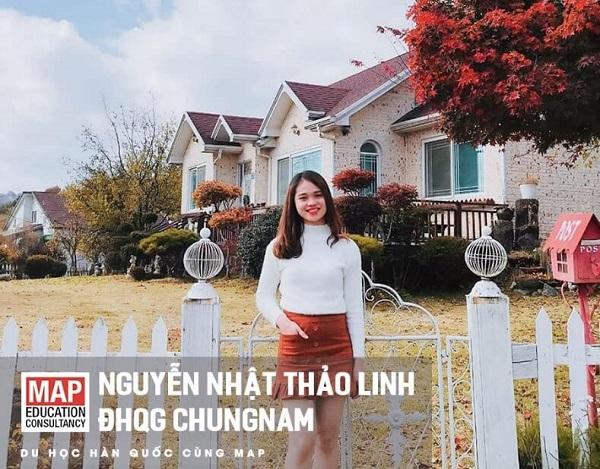Nguyễn Nhật Thảo Linh – Du học sinh MAP tại Đại học Quốc gia Chungnam
