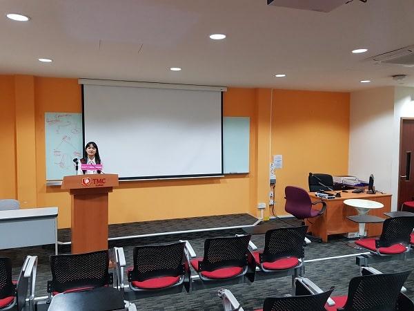 Tham gia khóa học tiếng Anh tại Học viện TMC Academy