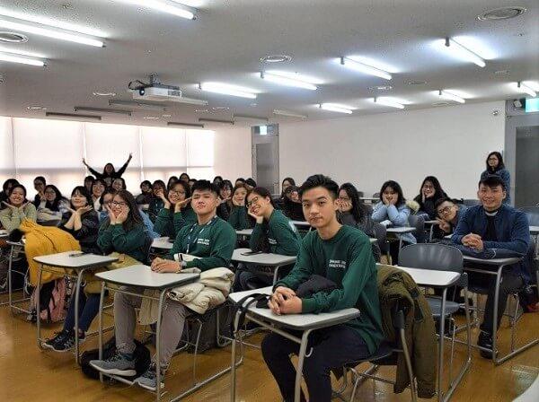 Bạn Thư Nguyễn, sinh viên Map ngày đầu nhập học tại Solbridge tháng 3/2019