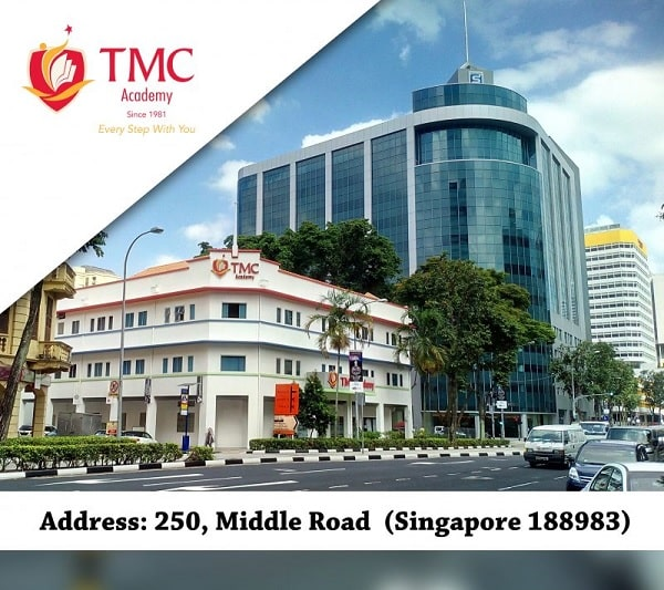 Trường tọa lạc ngay trung tâm Singapore