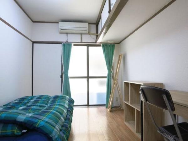 Bên trong một căn phòng ký túc xá ở Nhật