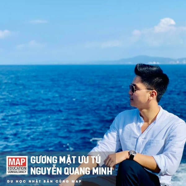 Sinh viên MAP - Quang Minh đã có nhiều thời gian thích nghi và trải nghiệm tại Nhật