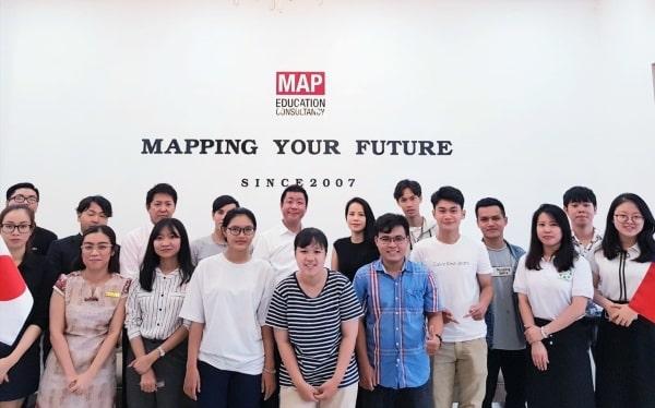 Ngoài việc hỗ trợ sinh viên trong quá trình xin visa du học Nhật, MAP sẽ hỗ trợ kết nối các bạn đến những trường Nhật ngữ uy tín