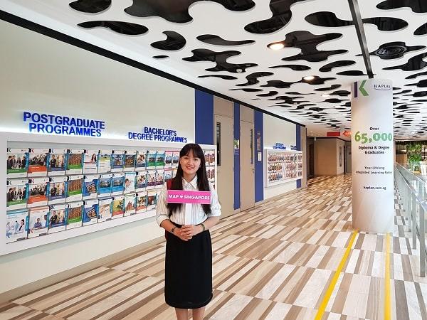 Du học cao đẳng Singapore tại Kaplan