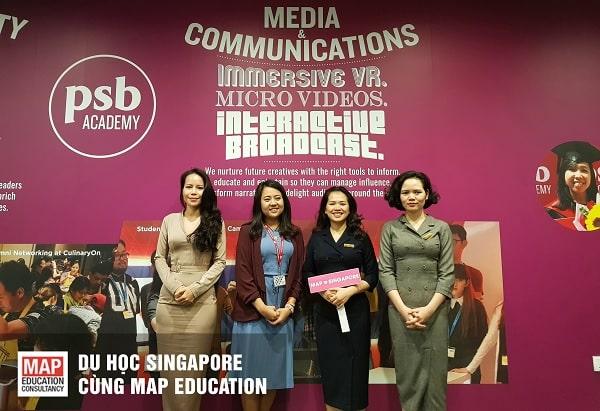 Du học cao đẳng Singapore tại trường PSB