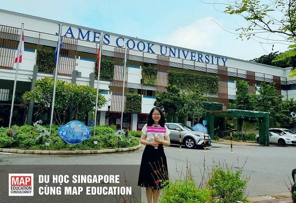Du học Singapore ngành Du lịch Khách sạn tại Đại học James Cook