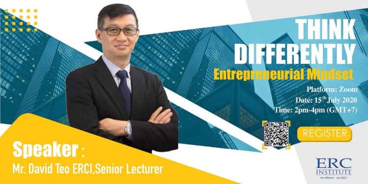 """Hội Thảo Online Với ERC Singapore: """"Mở Lối Tư Duy – Suy Nghĩ Khác Biệt"""""""