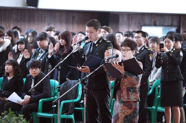 Buổi lễ khai giảng của trường Cao đẳng Jeonju Kijeon
