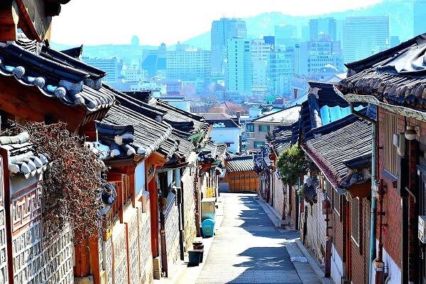 Làng cổ Hanok ở thành phố Jeonju