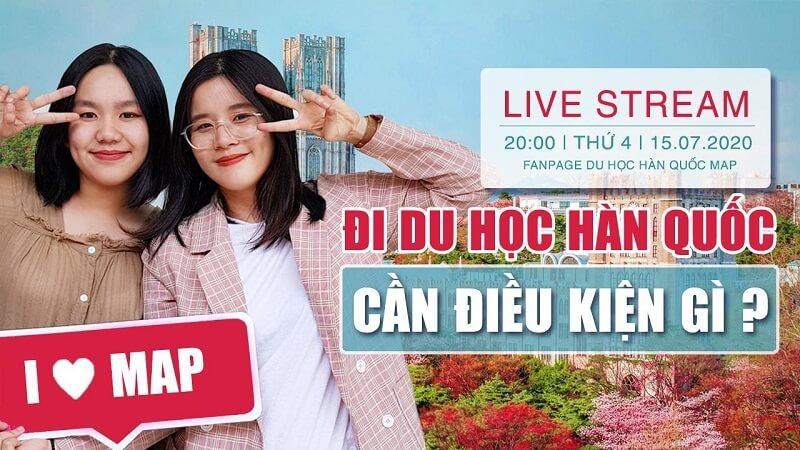 Live Stream: Đi Du Học Hàn Quốc Cần Điều Kiện Gì?
