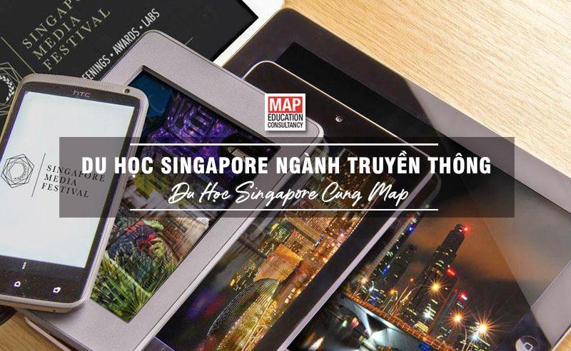 """Du học Singapore ngành Truyền thông – """"Media hub"""" của Châu Á"""