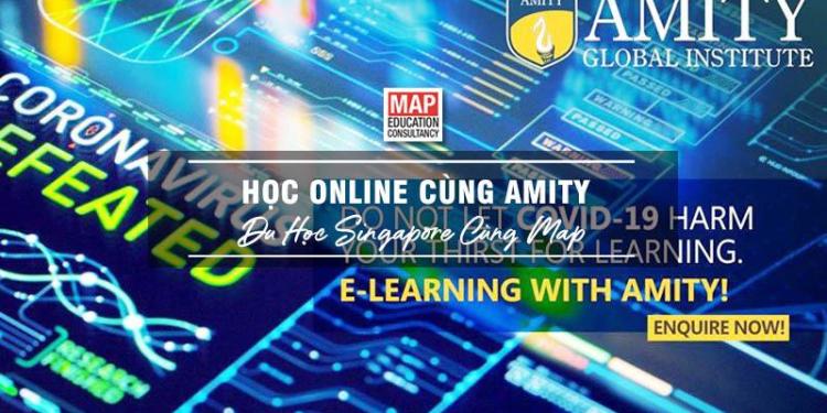 Học online cùng Amity - Học trực tuyến nhận bằng quốc tế