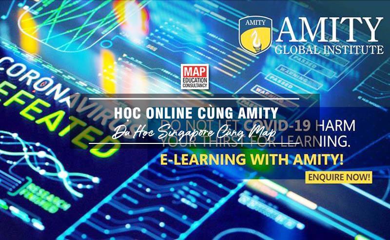 Học Online Cùng Amity – Học Trực Tuyến Nhận Bằng Quốc Tế