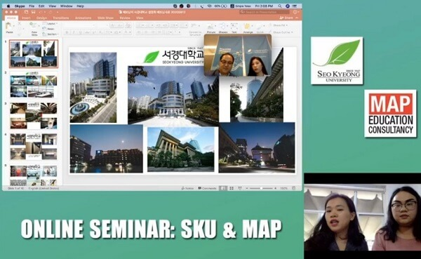 Online Seminar cùng Du học MAP: Gặp Gỡ Trực Tiếp Đại Học Seokyeong – Thánh Đường Ngành Làm Đẹp Tại Hàn Quốc