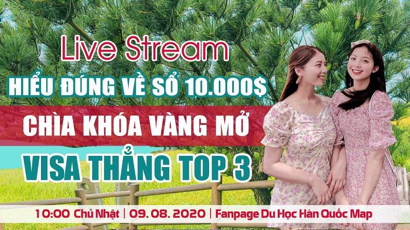 Live Stream: Hiểu Đúng Về Sổ 10.000 USD – Chìa Khoá Vàng Mở Visa Thẳng TOP 3