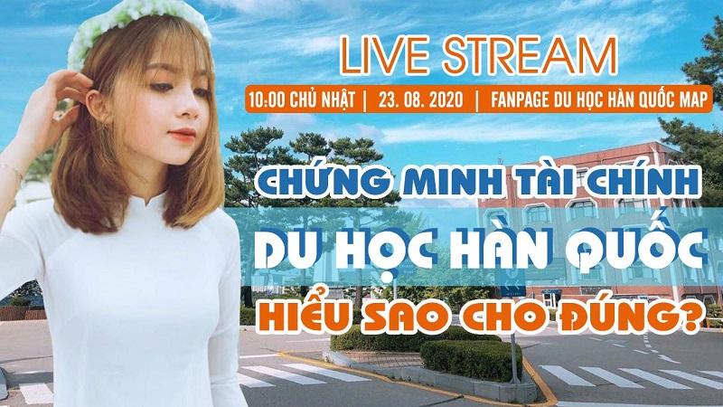 Live Stream: Chứng Minh Tài Chính Du Học Hàn Quốc: Hiểu Sao Cho Đúng?