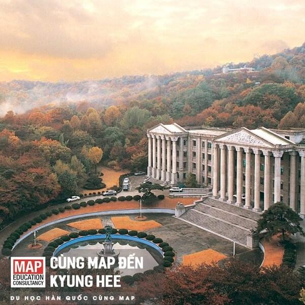 Đại học Kyunghee là trường tư thục có chất lượng đào tạo hàng đầu