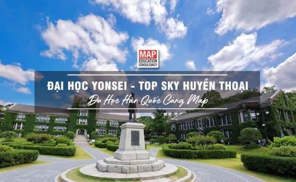 Đại học Yonsei - thuộc TOP trường SKY huyền thoại, là ngôi trường mơ ước của nhiều sinh viên